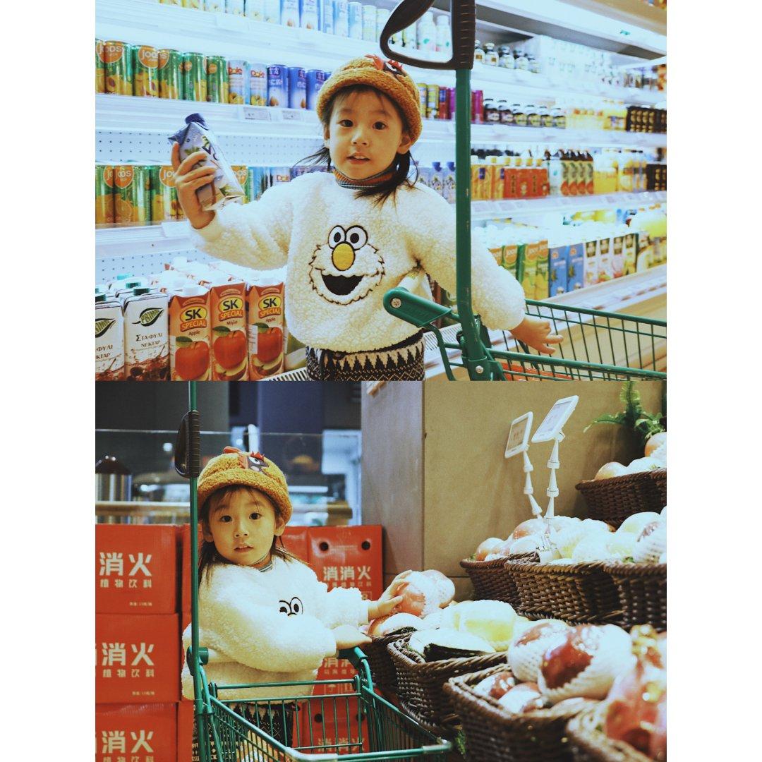 儿童版倪妮风超市大片+滤镜分享
