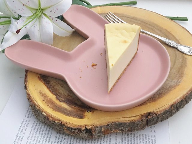 足不出户也能吃到炒鸡满足的芝士蛋糕!🍰