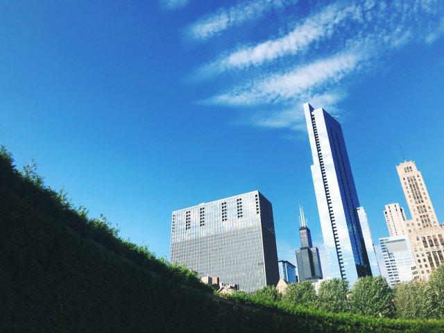 芝加哥   千禧公园☁️🌸🌇🧘🏻♀️🎵