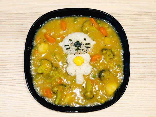 直男的晚餐🍛咖喱杂菜