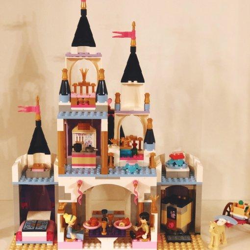 Lego 乐高 灰姑娘城堡