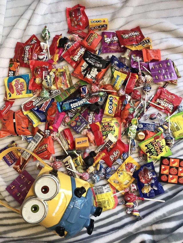 5.5 万圣节的糖果都吃完了吗