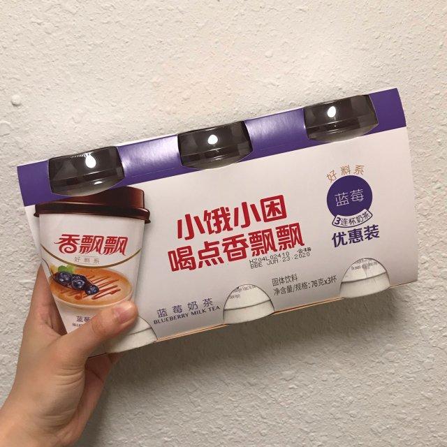 华超零食-蓝莓奶茶