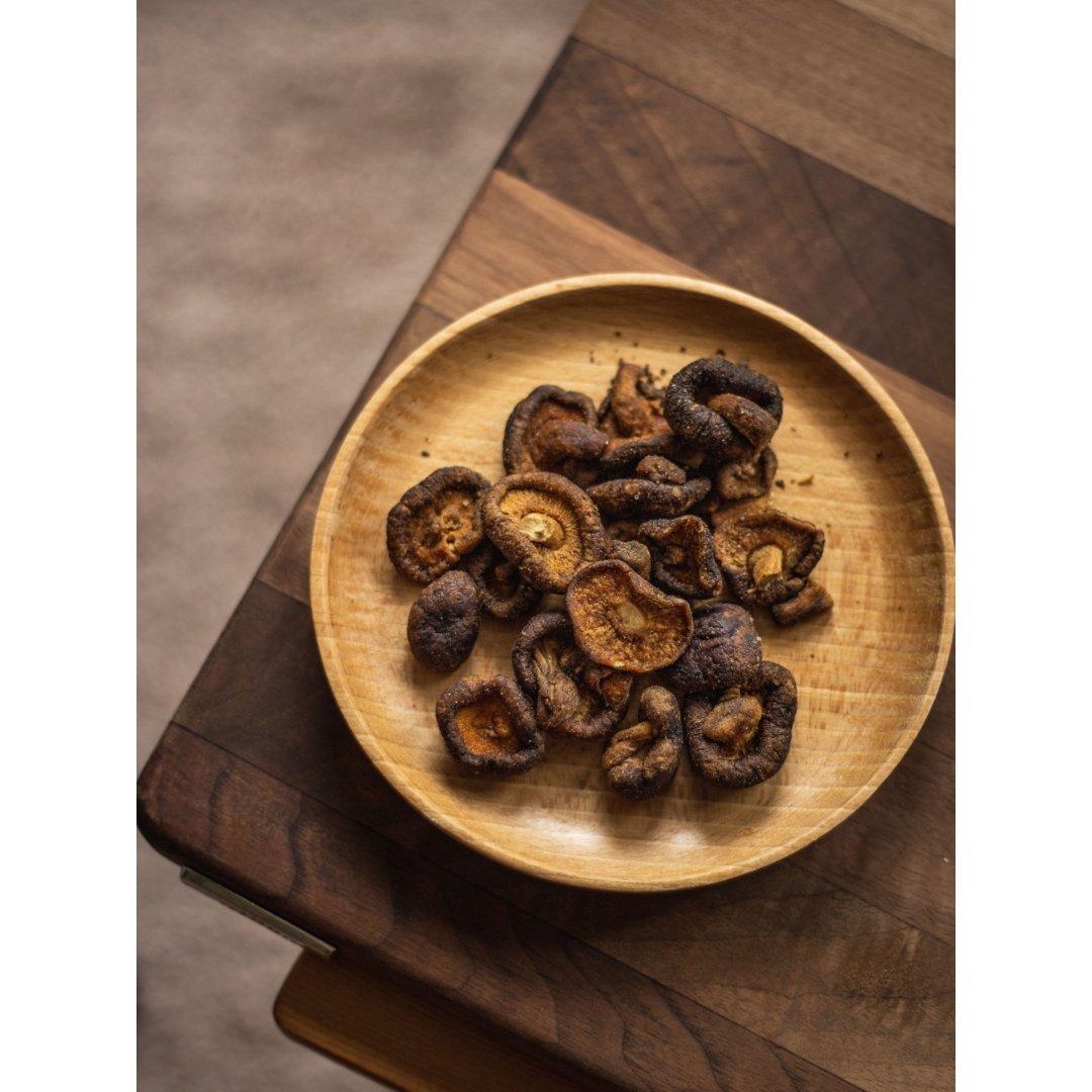 一日三餐吃什么之零嘴儿:香菇脆