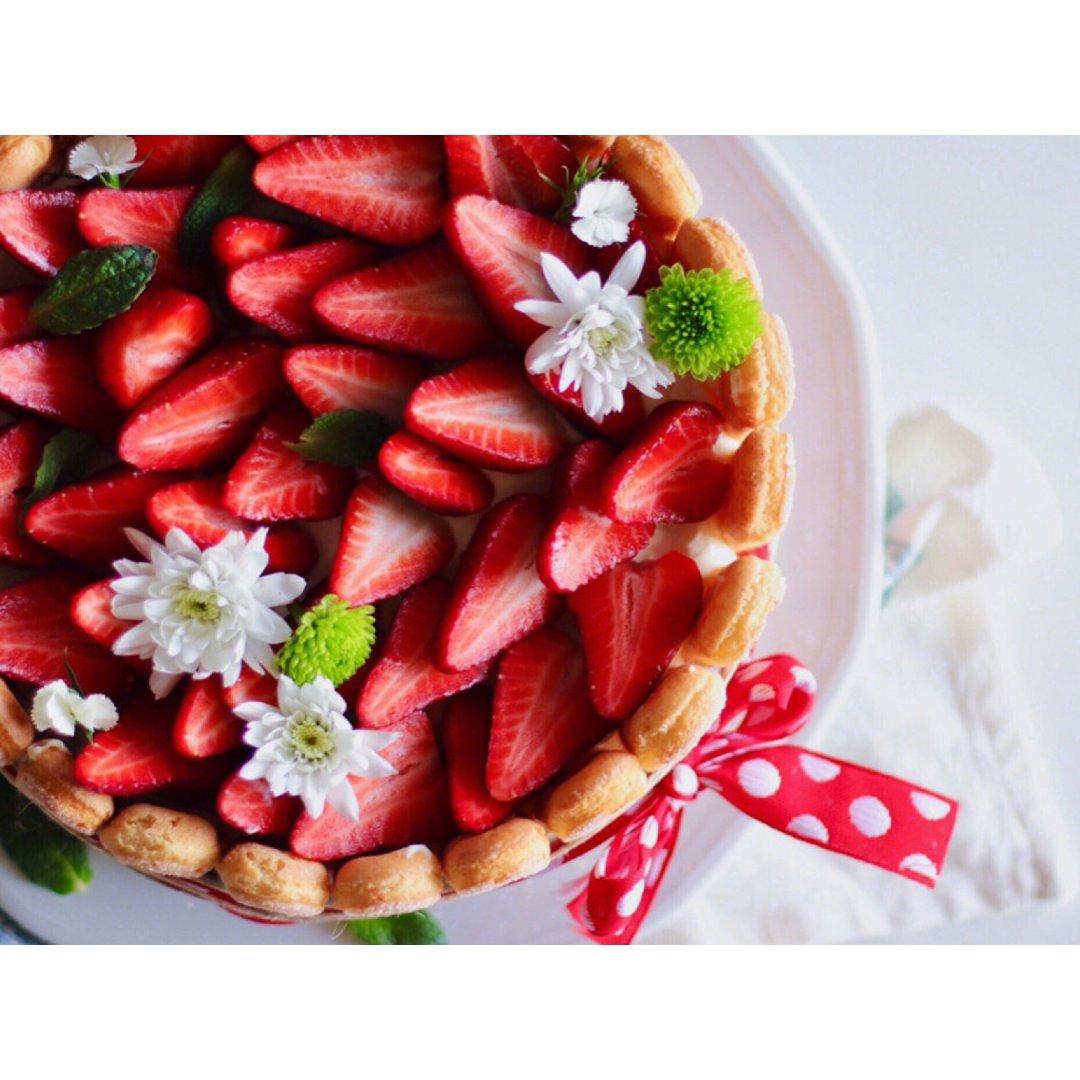 草莓提拉米苏蛋糕🎂