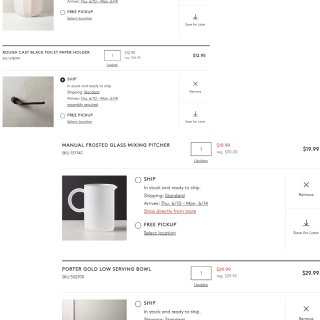 北美时尚家居软装 CB2✨年中折扣📝购物...