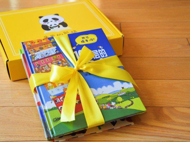 【亲爱的熊猫盒子,陪伴小朋友成长的...