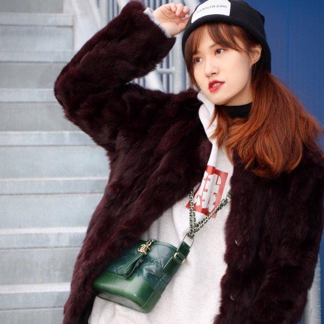 【帽衫搭配(3)——皮草➕帽衫】