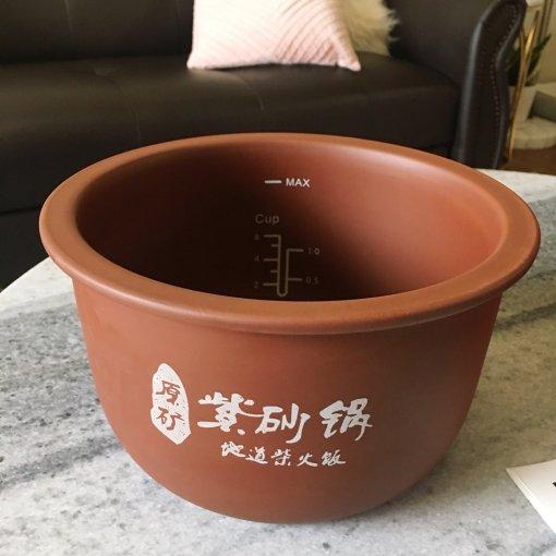 终于收到期盼已久的众测厨房小家电原矿紫砂电饭煲~