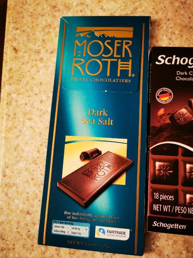 三款德国🇩🇪黑巧克力口感比较