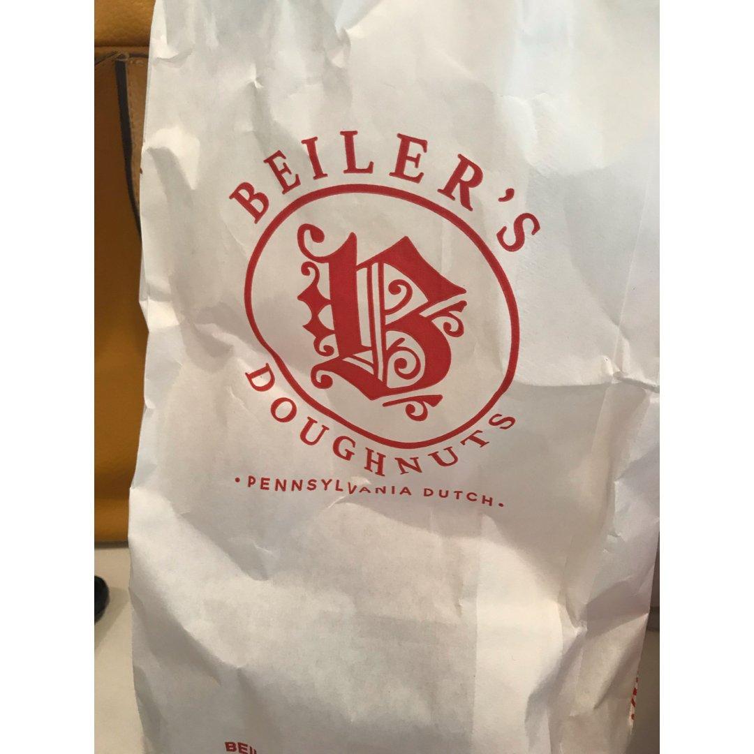我吃过最好吃的Beiler's 甜甜圈