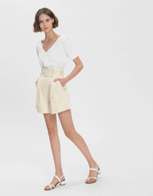 White Slingback Thong Sandals | CHARLES & KEITH