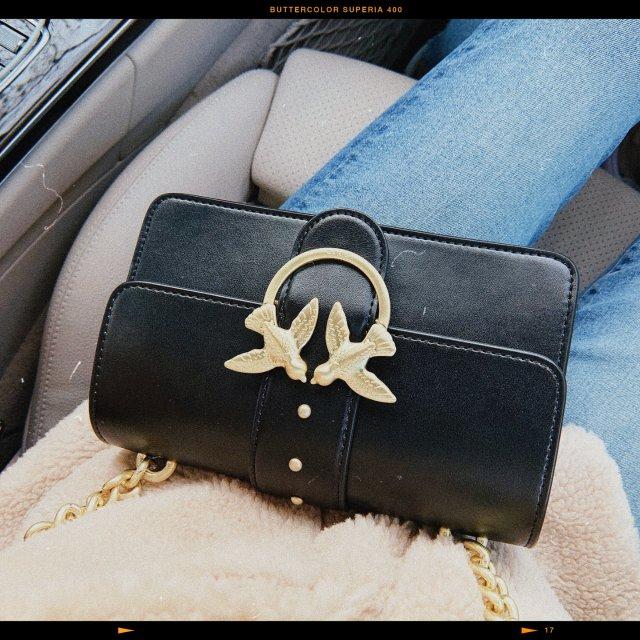 小众品牌包| PINKO黑金小号🧸