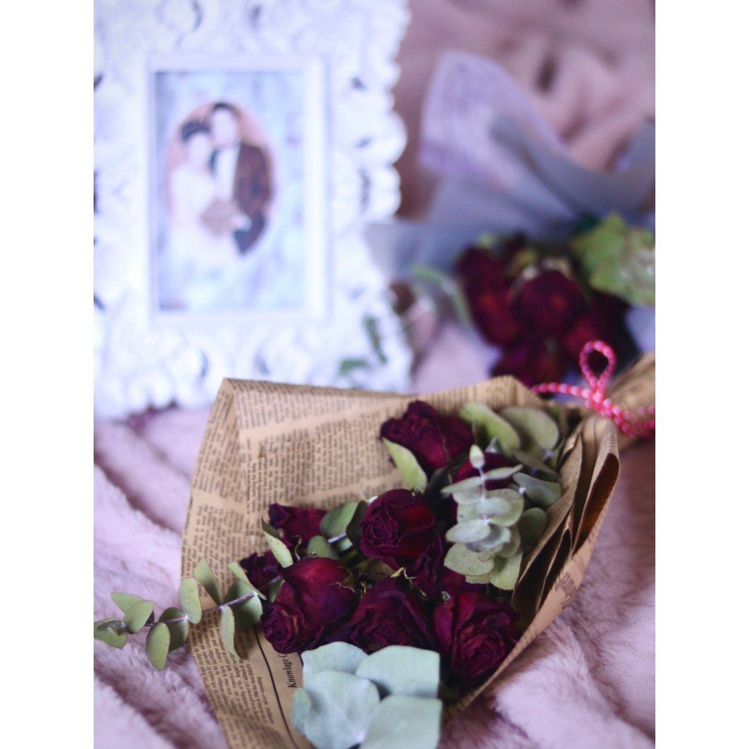 🌹DIY带香味的玫瑰干花🌹免费送金币🌹