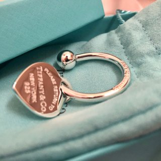 Tiffany经典钥匙圈|搬新家仪式感...