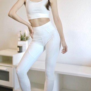 Lululemon的白色雪人⛄⛄运动套装...