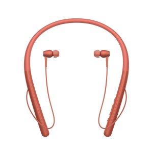 $125.99 包邮Sony H700 高解析度 无线入耳 颈挂式蓝牙耳机 红色