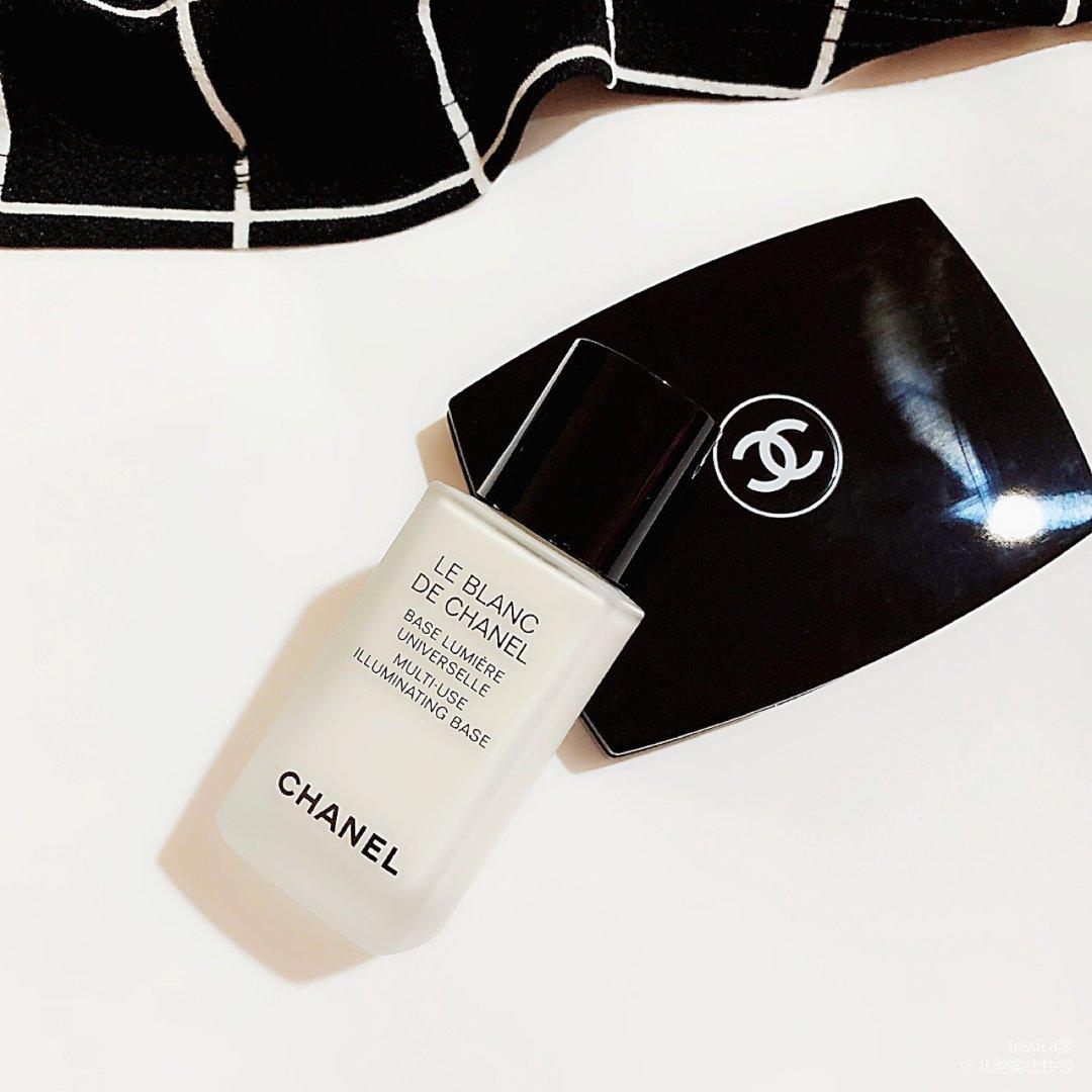 Chanel亮肤修饰妆前乳用了底妆超服帖