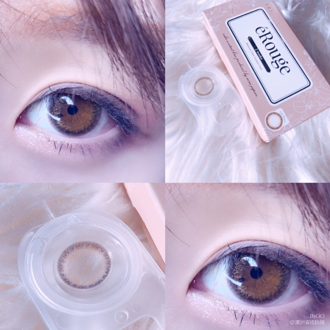 Evercolor 美瞳日记 第4天