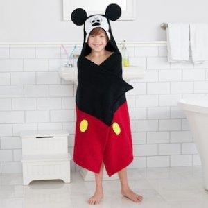 全部$11.24+送代金券Kohl's 儿童卡通形象浴袍促销