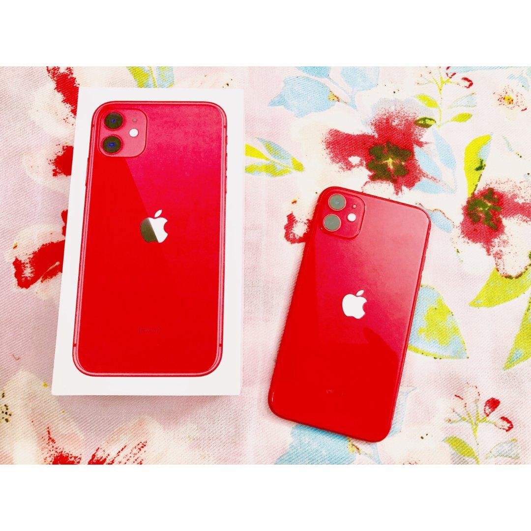 高颜值的红色 i phone 11