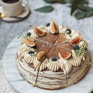 给生活加点甜  提拉米苏千层蛋糕...