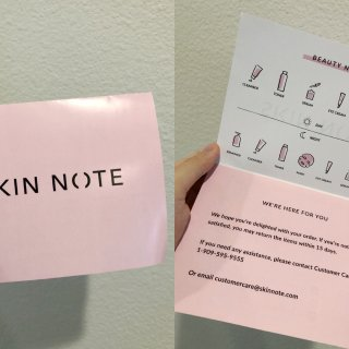 SkinNote初体验·新宠日系购物网站