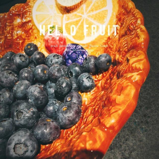色彩碰撞菠萝碗✊天天都要吃水果