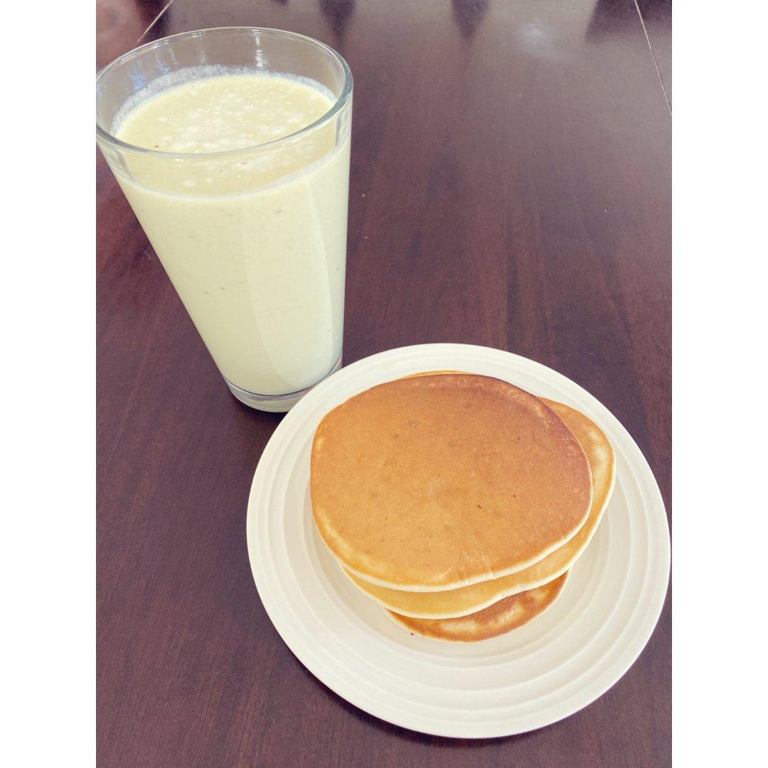 摆摊 早餐 banana pancake