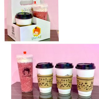 友茶:一杯有感觉的茶 超好喝的小清新奶茶水果茶