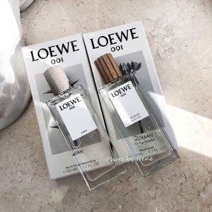 低至6折 €31收女香Loewe 罗意威 香水 001事后清晨情侣香 IBIZA夏季香