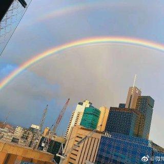 墨尔本双彩虹🌈🌈...