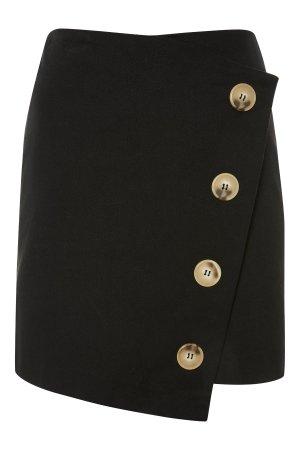 Twill Asym Wrap Skirt | Topshop