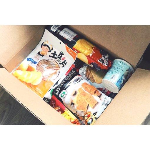 开箱记—超多零食的大囤货