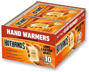Amazon.com: HotHands Hand Warmers - Long Lasting Safe Natural Odorless Air Activated Warmers - Up to 10 Hours of Heat - 40 Pair: Sports & Outdoors