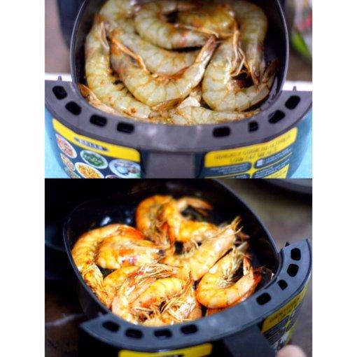 🦐空气炸锅美食🦐【烤大虾】