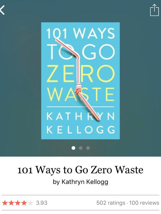 读书挑战 | 7. Zero Waste