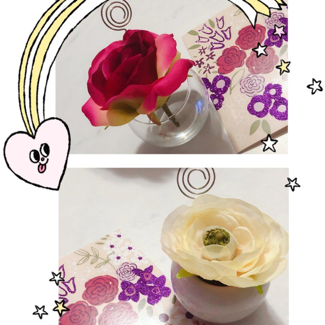 情人节再添两朵小花花🌸
