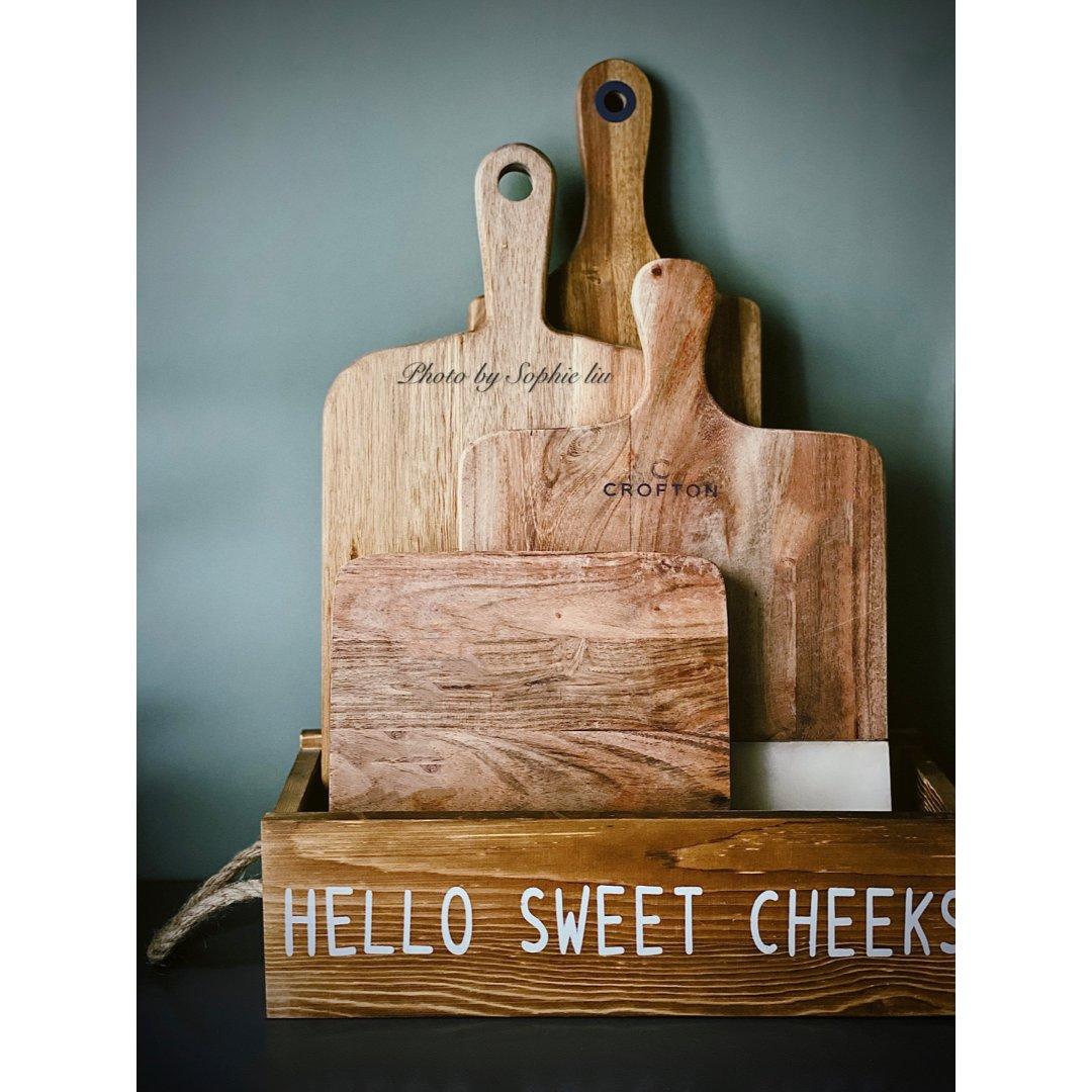 高颜值餐具  超实用的木质砧板,厨...