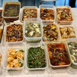 鱼香肉丝,酸菜鱼,干煸四季豆,口水鸡,水煮牛肉