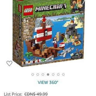 Lego Minecraft kit 打...