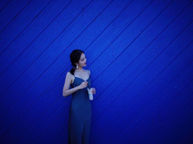 💙海边穿搭   蓝色大海的传说