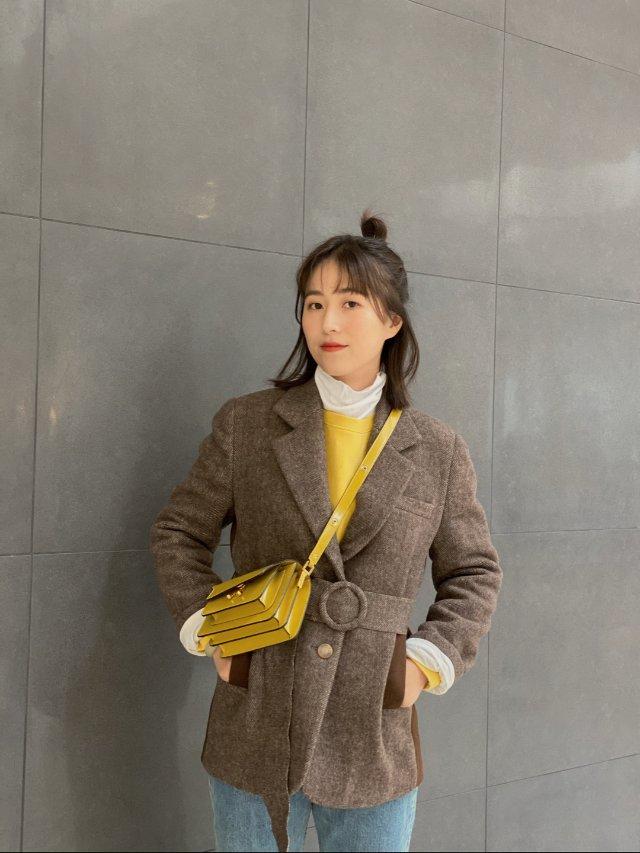一字米酱的outfit|冬季叠穿超...