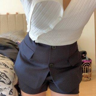 假西装裙裤