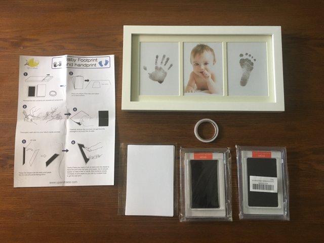 Up & Raise婴儿手脚印章开箱体验