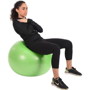 Calm 65 cm Anti-Burst Body Ball - Walmart.com