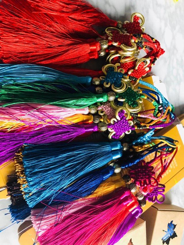 新年小礼物(中国结,香囊挂件)中国文化