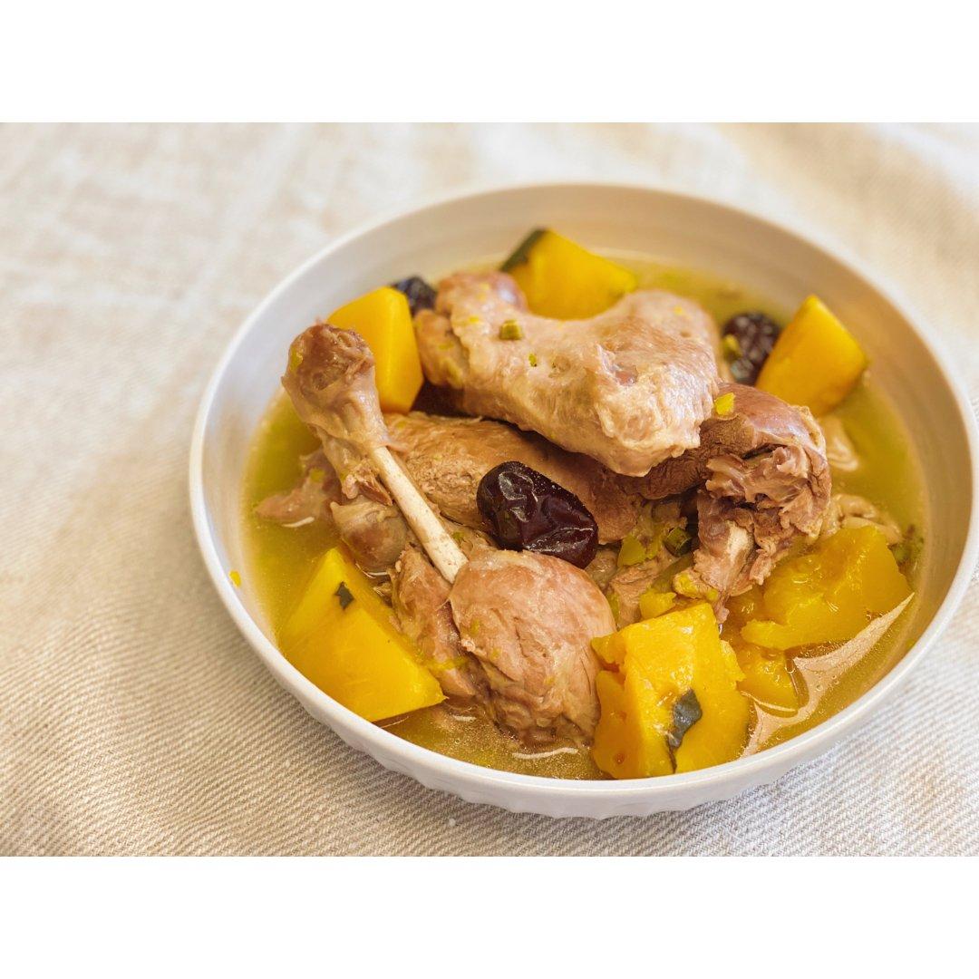 南瓜老鸭汤|高压锅食谱