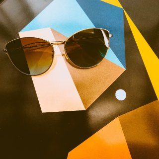 纯网购挑出心仪太阳镜 | 好好看的猫眼太阳镜呜呜呜,太喜欢了