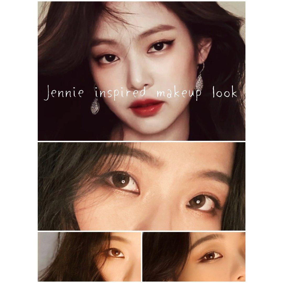 撸妆记|Jennie灵感|颓废港风...
